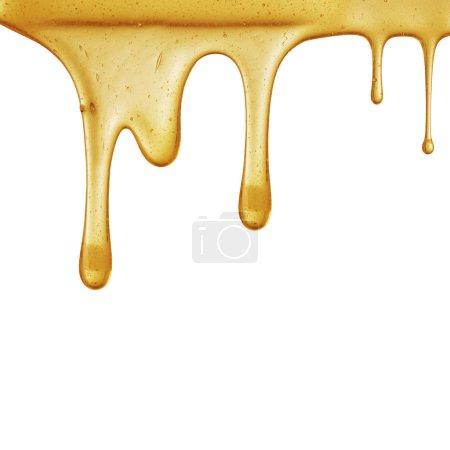 Flow of sweet honey