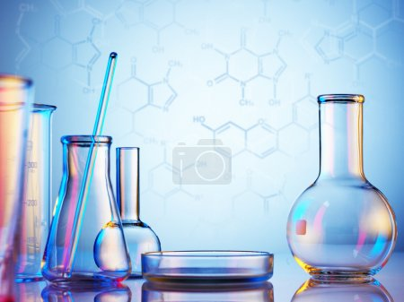 Laboratory glassware objects