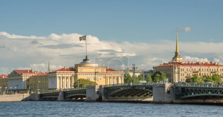 buildings of Admiralty in St. Petersburg