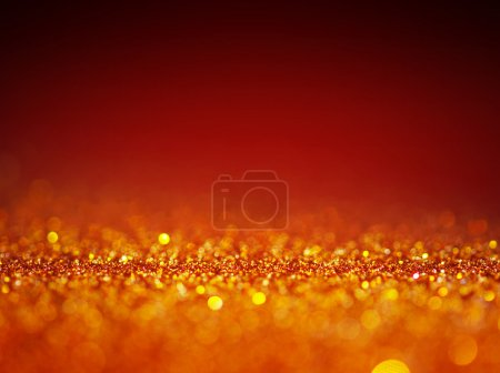 abstract defocused red background.