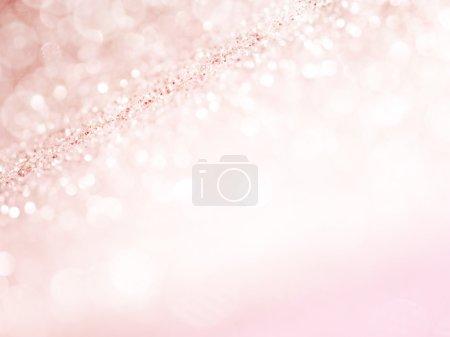 Photo pour Noël scintillant fond. Texture abstraite de vacances. Bokeh - image libre de droit