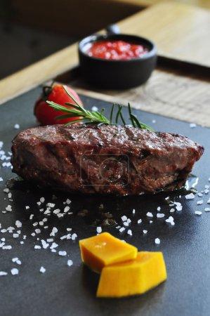 delicious grilled fillet steak