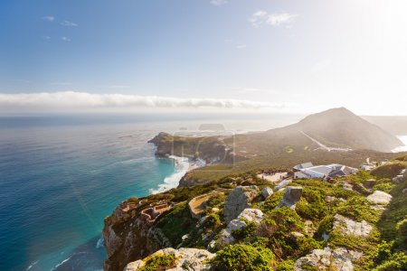 Photo pour Paysage du beau Cap de Bonne Espérance en Afrique du Sud - image libre de droit
