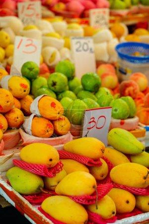 Mangoes at outdoor market