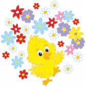 Easter Chick dancing