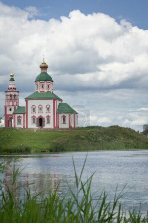 Russian orthodox church in Suzdal