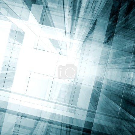 Foto de Abstracto. Diseño de arquitectura y modelo propio - Imagen libre de derechos