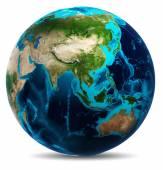 地球白い分離
