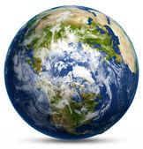Mapa země světa