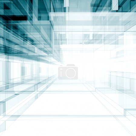 Photo for Architecture concept. Architecture design and model my own - Royalty Free Image