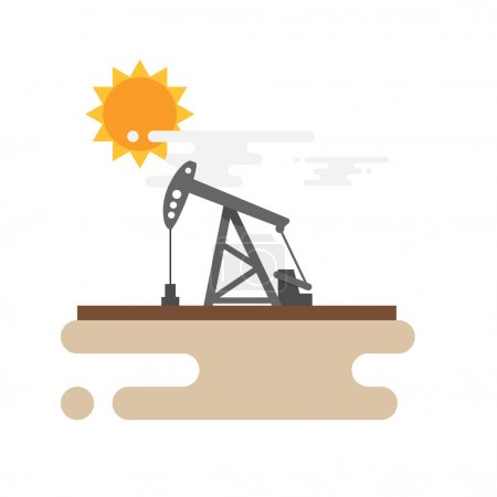 Pump Jack Oil Crane