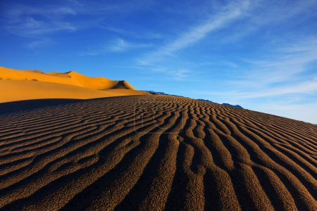 Sand dunes in Death Valley, USA