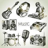 Sketch music set