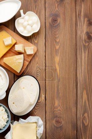 Sour cream, milk, cheese, yogurt
