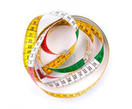 Colorful measure tape