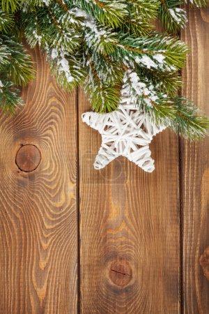 Christmas tree and star shape decor