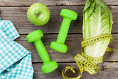 Healthy food and fitness