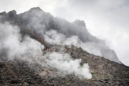 Sibayak volcano near Berastagi