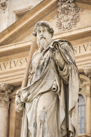 Saint Paul statue in Vatican