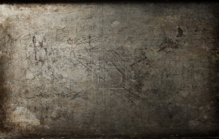 Photo for Dark  rusty metal texture background - Royalty Free Image