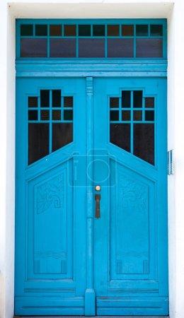 Antique door. Olsztyn - Poland.