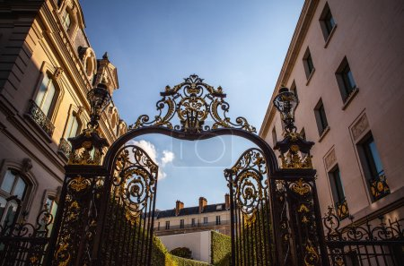 Forged park gate