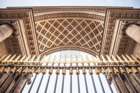 Antique palace gate in Paris