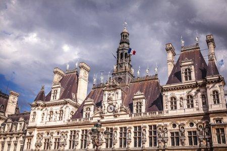 Hotel-de-Ville (City Hall) in Paris