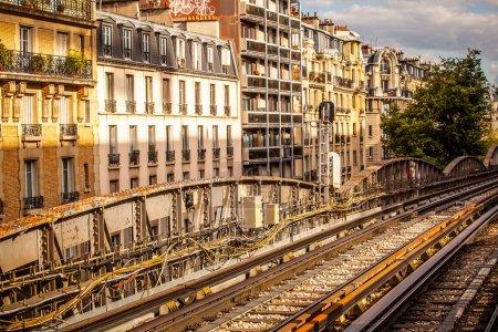 Metro ways in Paris