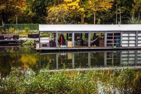 House on water. Muiderslot