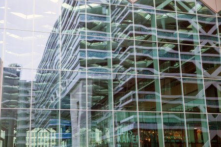 Modern city architecture in Hague