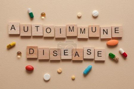 Autoimmune disease with pills