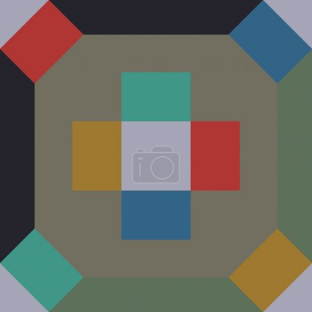 Encaustic tiles seamless pattern EPS 10...