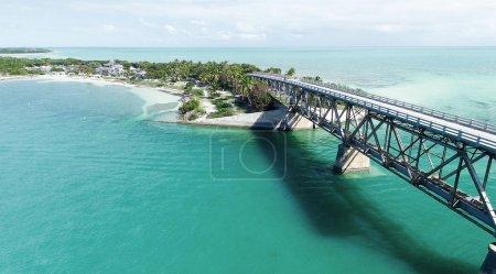 Bahia Honda state park aerial