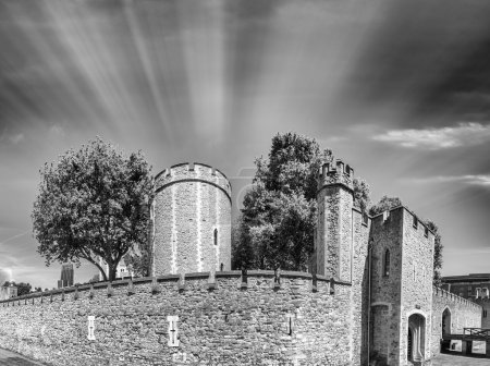 Magnificence of Tower of London, UK