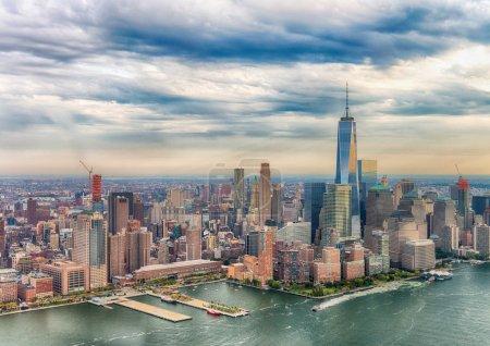 Manhattan skyline. New York