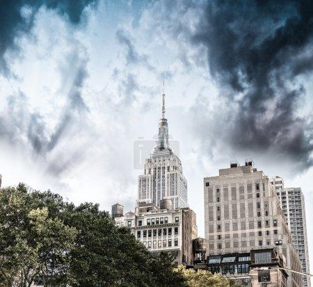 New York City buildings view