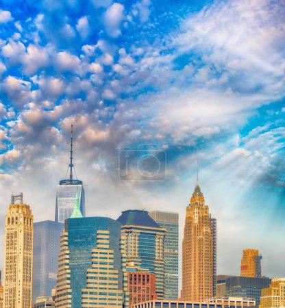 Manhattan skyline, New York