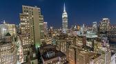 """Постер, картина, фотообои """"Видя Нью-Йорк ночью от на крыше"""""""