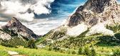Dolomites peaks near Falzarego