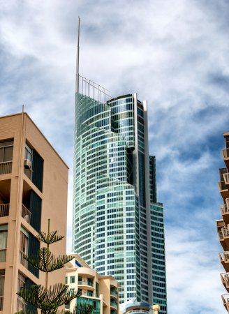 Tall buildings of Surfers Paradise, Australia
