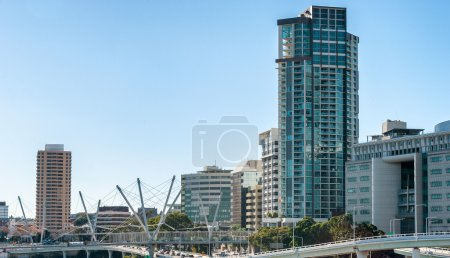 Brisbane city skyline, Australia