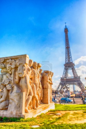 Paris, magnificence of Eiffel Tower