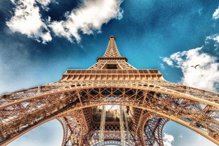 Paris. The Eiffel Tower