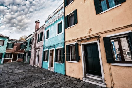 Colourful homes of Burano