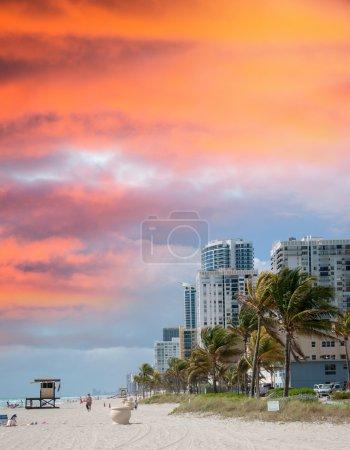 Fort Lauderdale. Beach in Florida