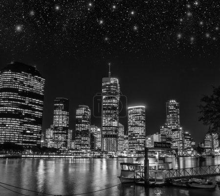 Wonderful cityscape at night