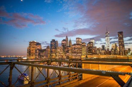 New York  from Brooklyn Bridge