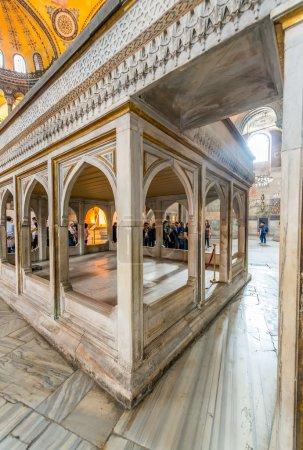 The Hagia Sophia interior