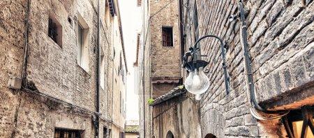 Medieval Walls of Siena, Italy